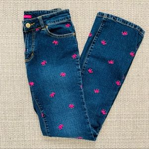 Lilly Pulitzer Main Line Fit Elephant Jeans Sz 2